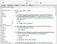WordWeb Pro Dictionary and Thesaurus for Mac OS