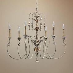 Lamps Plus Quorum Salento Wide Persian White Chandelier Chandelier Lighting Fixtures, White Chandelier, Antique Chandelier, Home Lighting, Country Chandelier, Chandelier Ideas, Lighting Ideas, Chandelier Makeover, Dining Chandelier
