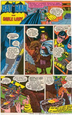 Batman and the Sable Lady Hostess Ad