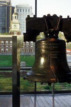 Philadelphia is the home to the Liberty Bell, an icon of American history.This city is for any history lover, more to see here than D. Oh The Places You'll Go, Places To Travel, Places Ive Been, Places To Visit, San Diego, San Francisco, Wonderful Places, Great Places, Beautiful Places