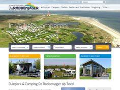 Op de mooiste locatie van Texel ligt Duinpark & Camping De Robbenjager. Een ruim opgezet recreatiepark op het meest noordelijke puntje van Texel dat naadloos overgaat in de fantastische natuurlijke omgeving. - www.duinparkderobbenjager.nl