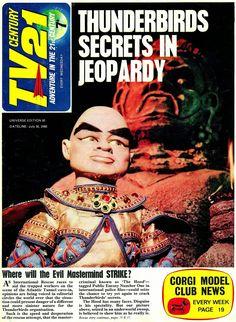 Classic Sci Fi, Classic Comics, Children Of The Revolution, Magazine Titles, Thunderbirds Are Go, Master Of Puppets, Sci Fi Tv, Pulp Fiction, Comic Art