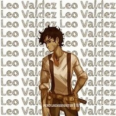 Leo Valdez<-----------------------Whenever I pin things that are all of the Seven I make sure to put Leo in the some-what-middle so he doesn't feel like the seventh wheel.