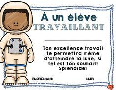 Tu es travaillant! French Class, French Lessons, Class Management, Classroom Management, Classe Dojo, D Avila, Kindergarten Graduation, Future Classroom, Positive Attitude