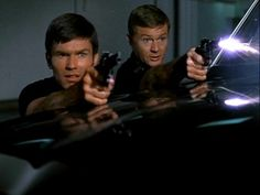 Adam-12 Action Shot. OMGGGGGG I LOVE THIS SHOW SO MUCH <3  my dad introduced me to it, and told me it was the show that made him want to be a cop as a kid :)