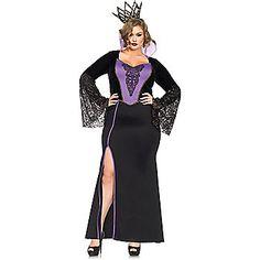 Women's Sexy Evil Queen Plus Costume | Fairytale Costumes
