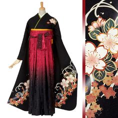 Traditional Kimono, Traditional Fashion, Traditional Dresses, Yukata, Japanese Outfits, Japanese Fashion, Kimono Fashion, Fashion Dresses, Pretty Dresses