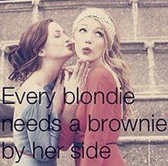 Brownie & Blondie