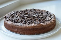 Chocolate amaretti cake