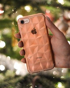 iPhone 7 Rose Gold with Ringke Air Prism Case - Christmas Time!