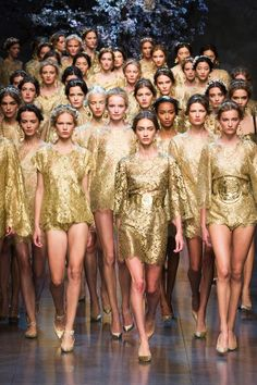 Dolce & Gabbana finale. Are you kidding me??!?!?!