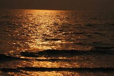 In my opinion the perfect blend of what i love - The sea and the sun setting on it in karachi.