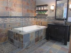 Bring the beauty of nature indoors with natural stone