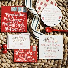 """Brides.com: . """"Sweet as Pie"""" wedding invitation suite, $2,250 for 100 invitations, Lovely Paper Things"""