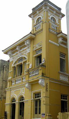 Fachada da casa onde morou Jorge Amado.