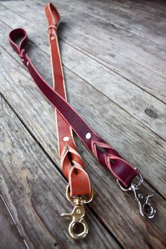 Handmade Custom Leather Woven Dog Leash/Custom Length/Training Lead: this is everything
