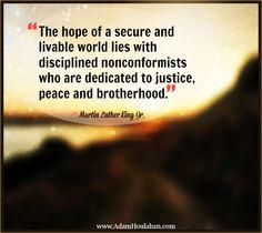 Restore humanity