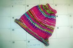 Ravelry: Project Gallery for Opal Pony Tail Hat pattern by The Bead and Opal Wool Queen