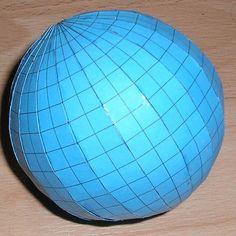 Geography for kids - make a globe | create a globe | making a globe