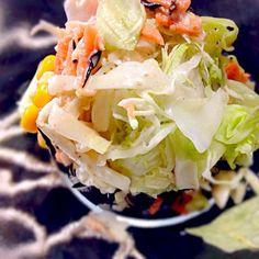 作成7日目のジャーサラダ!レタスもまだシャキシャキ♡ - 11件のもぐもぐ - 7th day Mason Jar Salad by Cherry.Okinawan