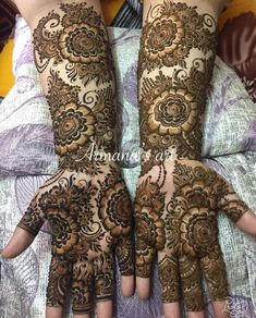 68 Ideas nails art flowers wedding for 2019 Latest Bridal Mehndi Designs, Full Hand Mehndi Designs, Indian Mehndi Designs, Henna Art Designs, Mehndi Designs 2018, Mehndi Designs For Girls, Stylish Mehndi Designs, Mehndi Design Pictures, Wedding Mehndi Designs