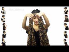 25 способов завязать шарф(платок) - YouTube