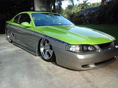 Custom 1995 Ford Mustang for sale Little Sport, Ford Mustang For Sale, Mitsubishi Eclipse, Car Tuning, All Cars, Cars For Sale, Engineering, Hot, Cars For Sell