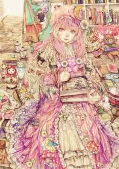 bookgirl by ~YOGISHA on deviantART