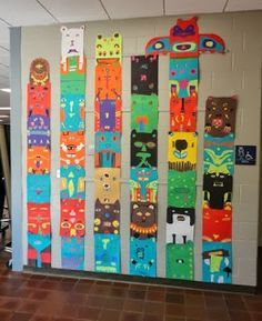 pacific northwest native american art project for children - Google Search