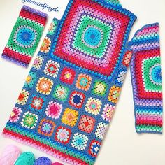 38 Ideas For Crochet Granny Square Coat Blankets Crochet Bolero, Pull Crochet, Hippie Crochet, Crochet Coat, Crochet Motifs, Crochet Cardigan Pattern, Crochet Shirt, Crochet Jacket, Crochet Squares