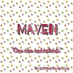 Beloved Baby Names: Name Crush Monday: Maven