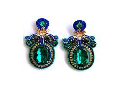 Zarcillos Azul imperial de Dopodomani, los encuentras en mchic24.com