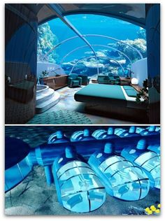[Nautilus Undersea Suite, The Poseidon Resort, Fiji] #travel