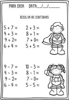 First Grade Math Unit 14 Measurement Preschool Writing, Preschool Learning Activities, Teaching Kids, Kids Learning, Kindergarten Math Worksheets, Maths Puzzles, Math Notebooks, Math For Kids, Math Lessons