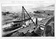 1891 Denny Dumbarton Glasgow, Vintage Photos, Scotland, Ships, Industrial, History, Boats, Historia, Industrial Music