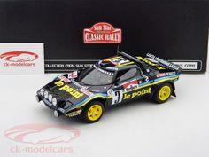 Lancia Stratos #3 Winner Rally Tour de France 1980 Darniche, Mahe 1:18 SunStar