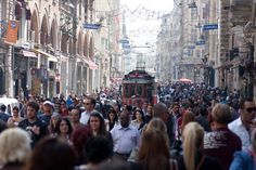 Istiklal Cadessi, Istanbul - National Geographic Traveller article on visiting and eating at Istiklal Cadessi in the heart of Istanbul
