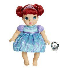 Disney Princess Ariel Deluxe Baby Doll