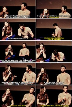 Crystal Reed - most embarrassing job - WereWolfCon - Brussels