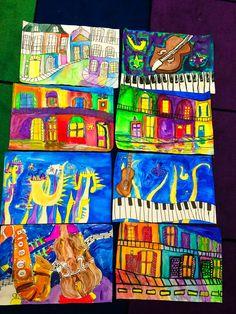 smART Class: jazz instruments