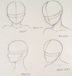manga How to draw different head poses - manga . - - manga How to draw different head poses – manga … My Pins Manga Wie man verschiedene Kopfhaltungen zeichnet – Manga Drawing Heads, Drawing Poses, Drawing Tips, Art Drawings, Art Sketches, Drawing Drawing, Face Drawing Tutorials, Drawing For Beginners, Drawing Skills