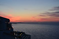 Sunrise from Hotel Florida, Magaluf, Palma de Mallorca, Spain
