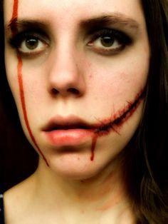 My zombie makeup! :D