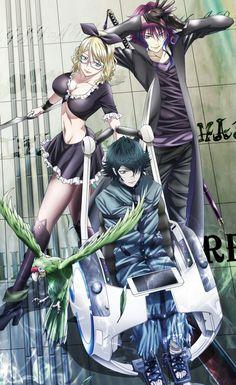 Mishakuji Yukari & Hirasaka Douhan & Hisui Nagare (Green Clan) | K: Return of Kings #anime