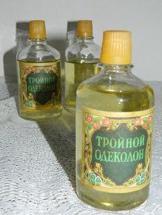 lot. 3 FLACONS d'eau de  COLOGNE années par vintagemadeinFRANCE