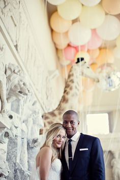 fun and magical wedding in England with photos by Marianne Taylor | via junebugweddings.com