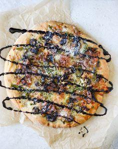 asparagus prosciutto pizza with balsamic glaze mushroom asparagus ...