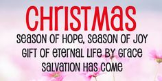 A Season of Hope. Christmas Day on the 25th of December is a joyful day, but you can bring the joy of Christmas with you every day.