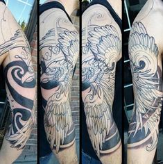 Soar with national pride and an omen of good fortune with the top 60 best Polish Eagle tattoo designs for men. Explore cool flag and coat of arms ink ideas. Upper Half Sleeve Tattoos, Half Sleeve Tattoos Drawings, Half Sleeve Tattoos Designs, Full Sleeve Tattoos, Tattoo Designs Men, Polish Eagle Tattoo, Eagle Tattoo Arm, Eagle Tattoos, Arm Tattoo