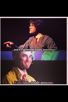 A Very Potter Musical to A Very Potter Senior Year.... It was totally awesome <3